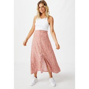 Cotton On Pink Frankie Daisy Canyon Rose Skirt